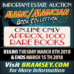 magic book estate auction